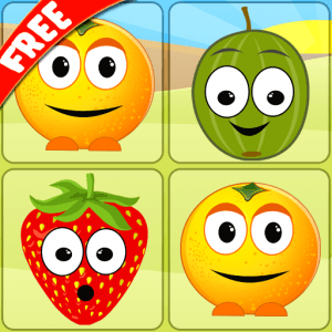 Mem Fruits - pair match game